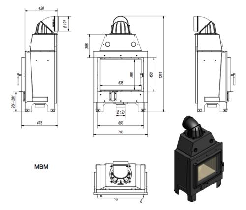 Kratki-MBM 10 méretei